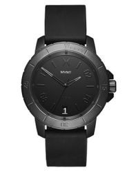 MVMT - Black Modern Sport Silicone Strap Watch for Men - Lyst