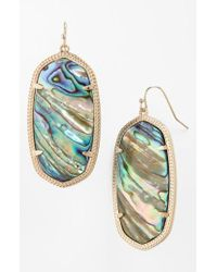 Kendra Scott - Multicolor Danielle - Large Oval Statement Earrings - Lyst