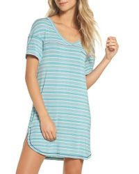 Honeydew Intimates - Blue Rib Sleep Shirt - Lyst