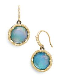 Armenta - Blue Old World Opal Drop Earrings - Lyst