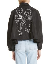 Undercover Black Anti Sns Jacket