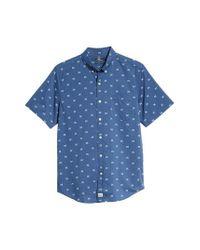 Vineyard Vines - Blue Crossed Fish Bones Murray Slim Fit Sport Shirt for Men - Lyst