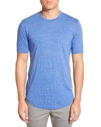 Goodlife - Blue Scallop Triblend Crewneck T-shirt for Men - Lyst