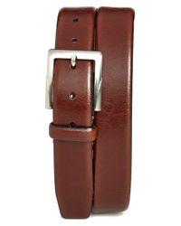 Trafalgar | Brown 'rafferty' Leather Belt for Men | Lyst