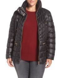 Bernardo - Packable Jacket With Down & Primaloft Fill, Black - Lyst