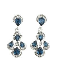 Oscar de la Renta | Metallic Parlor Crystal Clip Earrings | Lyst