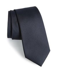Calibrate | Blue Woven Silk Tie for Men | Lyst