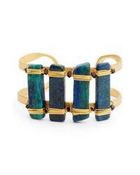Nakamol - Blue Ahlan Lapis Cuff Bracelet - Lyst