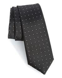 Calibrate - Black Descrete Geometric Silk Tie for Men - Lyst