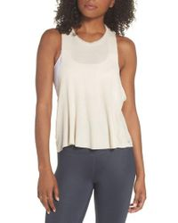Alo Yoga - Multicolor Flow Thermal Tank - Lyst