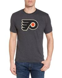 American Needle Black Hillwood Flyers T-shirt for men