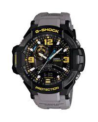 G-Shock   Gray 'aviation' Ana-digi Watch for Men   Lyst