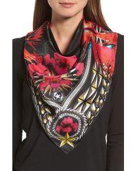 735ddc20d74 Lyst - Givenchy Iris Silk Twill Square Scarf