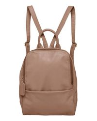 Urban Originals - Gray Evolution Vegan Leather Backpack - Lyst