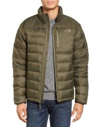 The North Face - Green 'aconcagua' Goose Down Jacket for Men - Lyst