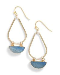 Nakamol - Blue Bahar Lapis Teardrop Earrings - Lyst