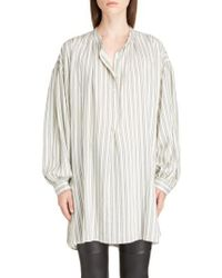 Isabel Marant - Multicolor Idoa Stripe Tunic - Lyst