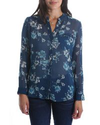 Kut From The Kloth - Blue Jasmine Top - Lyst