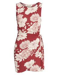 Mimi Chica - Red Wrap Skirt Dress - Lyst