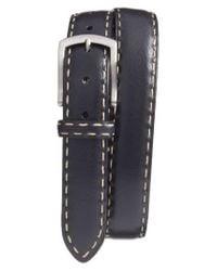 Torino Leather Company | Black Calfskin Leather Belt for Men | Lyst