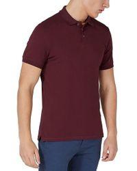 Topman - Purple Muscle Fit Polo for Men - Lyst