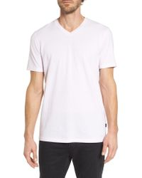 BOSS Red Tilson Slim Fit V-neck T-shirt for men