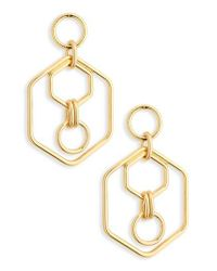 BaubleBar   Metallic Stephania Hoop Earrings   Lyst