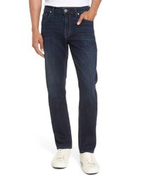 PAIGE | Blue Lennox Slim Fit Jeans for Men | Lyst