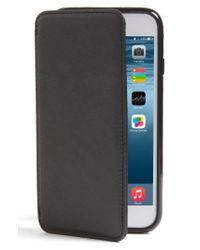 Sena - Black Iphone 7 Leather Wallet Case - Lyst