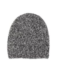 Vince | Gray Marled Knit Beanie | Lyst