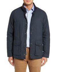 Peter Millar - Blue Autumn Harrison Field Jacket for Men - Lyst