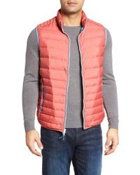 Peter Millar - Red Crown Elite Light Down Vest for Men - Lyst