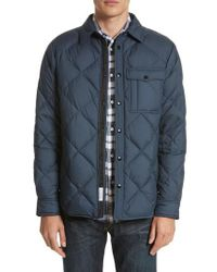 Rag & Bone | Blue Mallory Quilted Jacket for Men | Lyst