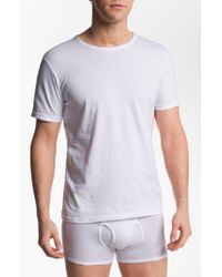 Emporio Armani - 3-pack Crewneck T-shirt, White for Men - Lyst