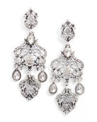 SAREH NOURI - Metallic Statement Earrings - Lyst