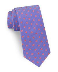 Ted Baker   Purple Dot Silk Tie for Men   Lyst