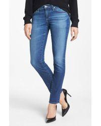 AG Jeans - Blue 'the Stilt' Cigarette Leg Jeans - Lyst