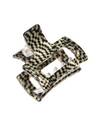 France Luxe - Metallic Small Cutout Jaw Clip - Lyst
