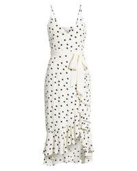 Lovers + Friends - White Bridget Midi Dress - Lyst