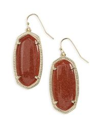Kendra Scott - Metallic 'elle' Drop Earrings - Lyst