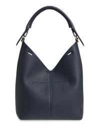 Anya Hindmarch - Blue Small Build A Bag Leather Base Bag - Lyst