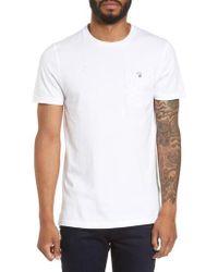 Ted Baker - White Bothy Modern Slim Fit T-shirt for Men - Lyst