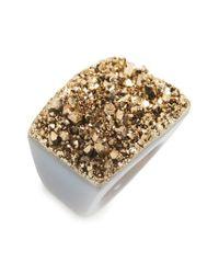 Nakamol   Metallic Agate Statement Ring   Lyst