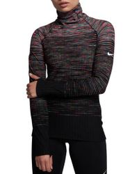 Nike - Black Pro Hyperwarm Long Sleeve Training Top - Lyst