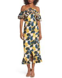 C/meo Collective - Multicolor Temptation Halter Sheath Dress - Lyst