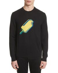 PS by Paul Smith - Black Paul Smith Popsicle Merino Wool Sweater for Men - Lyst