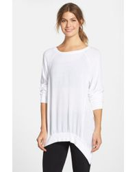 Hard Tail - White Asymmetrical Pullover - Lyst