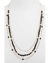 Gorjana - Metallic Adjustable Layered Necklace - Lyst
