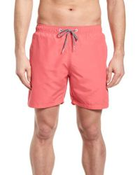 Boardies - Red Swim Trunks for Men - Lyst