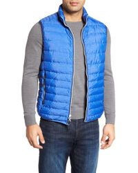 Peter Millar - Blue Crown Elite Light Down Vest for Men - Lyst